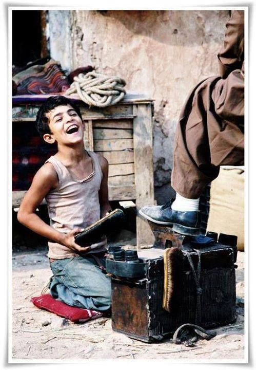 I see pure happiness in thisnpicy - Afghanistan. We tend to forget the little things in life and over look the beauty thats in front of us