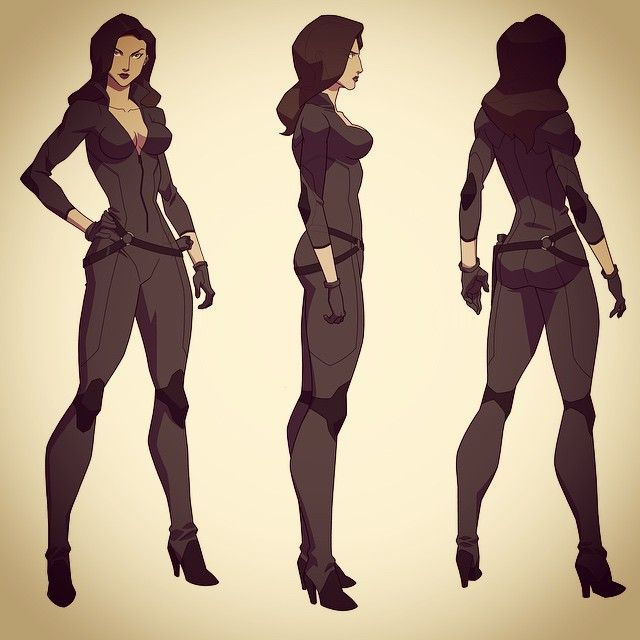 10665909_463790997118799_430272412_n.jpg (640×640) Son of Batman Talia Al'Ghul turnaround.