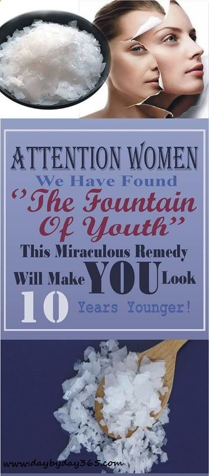 Attention Women: We Have Found ''The Fountain Of Youth'' – This Miraculous Remedy Will Make You Look 10 Years Younger! #skincare #beauty #youth