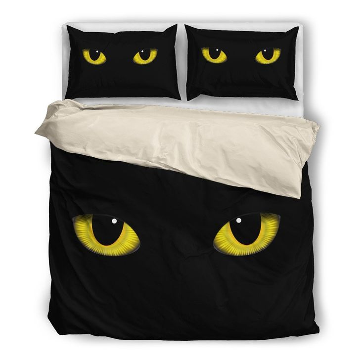 Black Cat Bedding Set - I need a king size :-)