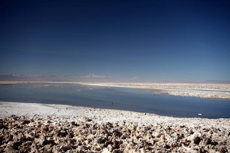 Salt Flats. San Pedro de Atacama, Chile