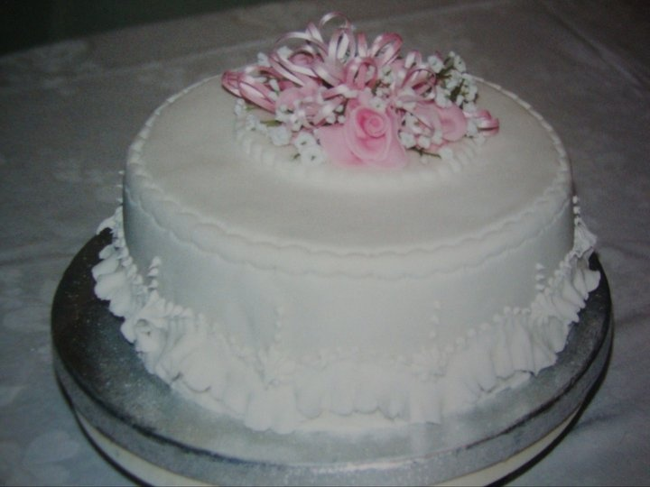 Birthday Cake I made for my Mother-in-law