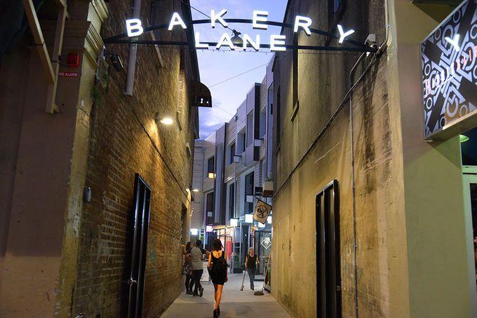 Bakery Lane Brisbane