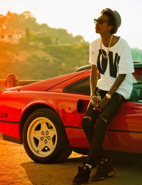 WIZ KHALIFA #fashion #ferrari