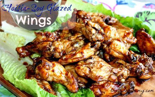 Hoisin-Soy Glazed Chicken Wings | Recipe
