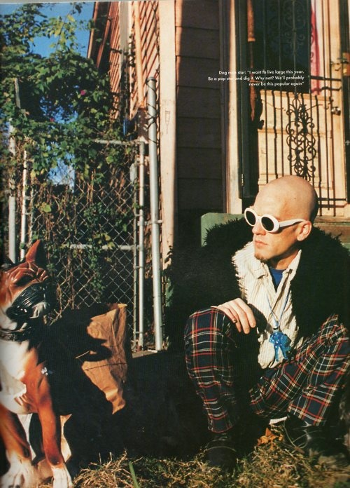 Michael Stipe.  ---  I really actually miss the 90's quite a lot.