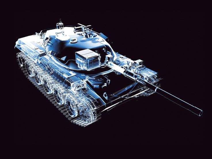 Tank X-Ray Wallpaper