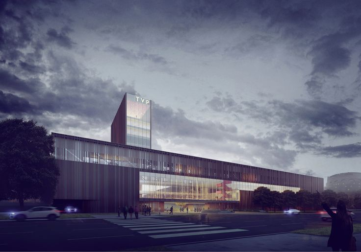 Gallery of Maka-Sojka Architects Design Polish Public Television Headquarters in Warsaw - 2