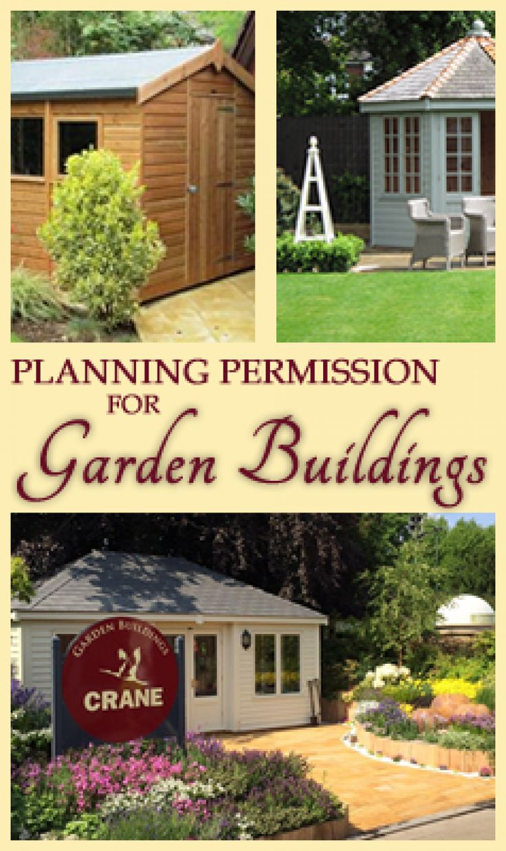 Learn more about the UK's Planning Permission Regulations if you're planning any kind of garden building in this easy to read guide.