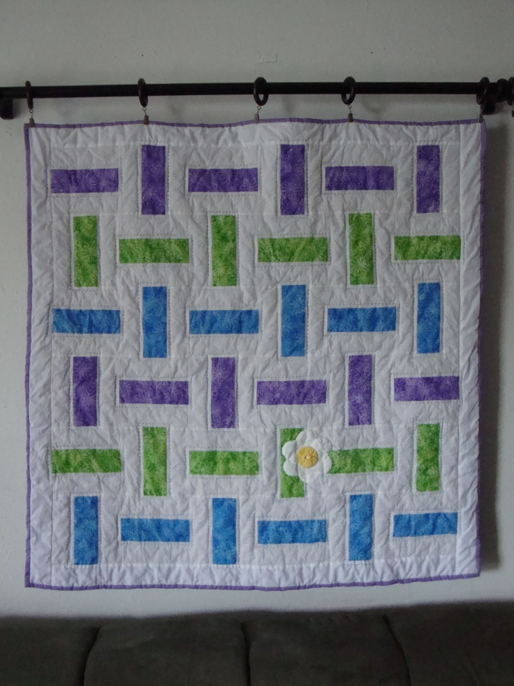 Easy Basket Weave Quilt Pattern : Basket weave baby quilt quilts that i have made