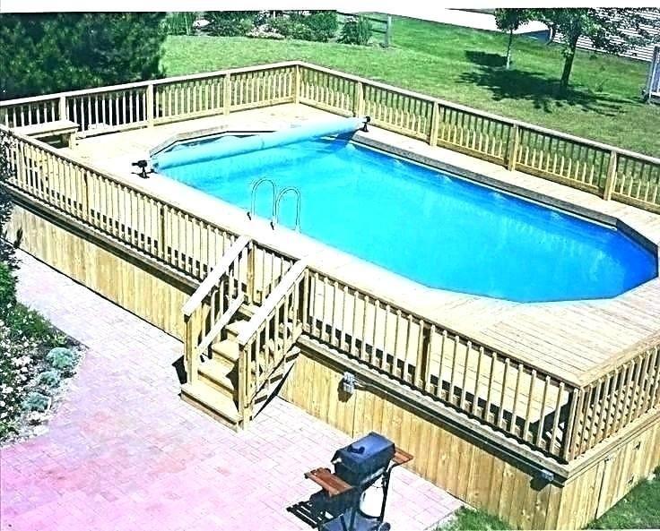 Rectangle Above Ground Pool Sizes Fiberglass Royal Swimming Pools