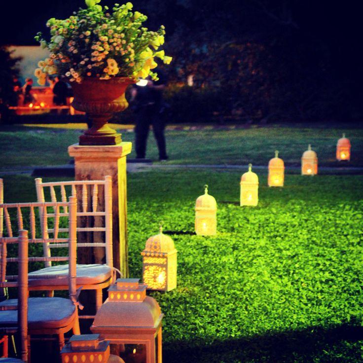Arreglo floral ceremonia