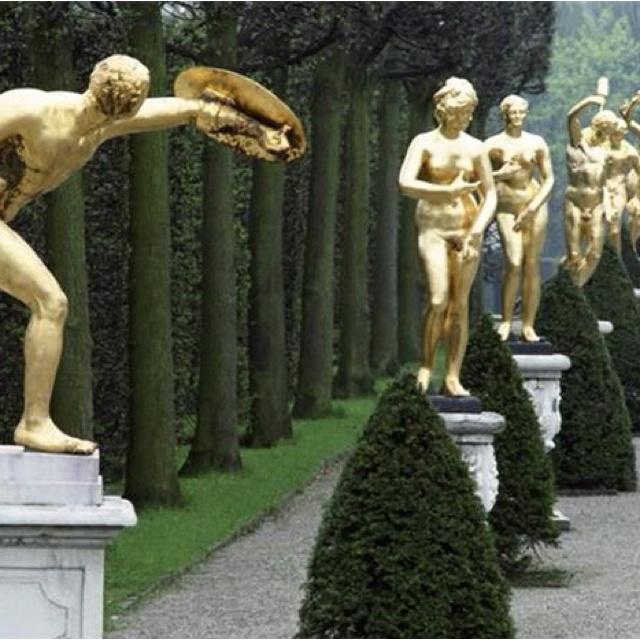 Fabulous Great Garden of the Herrenhausen in Hannover Germany