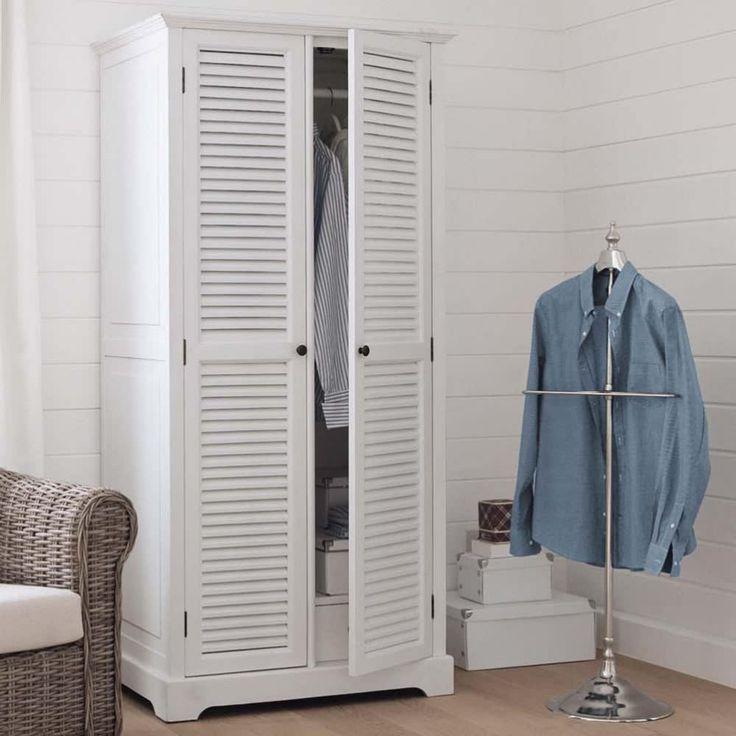 dressing 2 portes blanc kleiderschrank schrank kleider