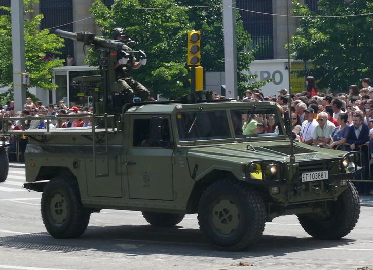 URO VAMTAC with mistral missile, Spanish Army