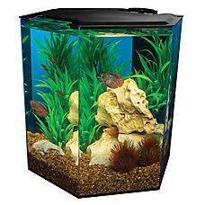 Marineland® 5 Gallon Escape Hexagon Aquarium | fish Aquariums | PetSmart