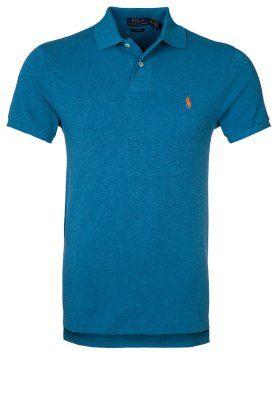 bestil Polo Ralph Lauren SLIM FIT - Poloshirts - marine heather til kr 594,00 (30-12-14). Køb hos Zalando og få gratis levering.