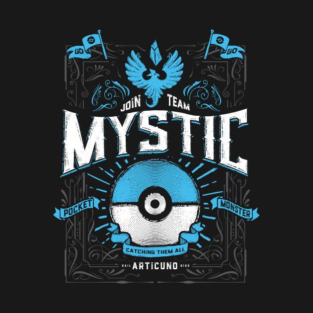 A MYSTICAL DECISION T-Shirt - Pokemon GO T-Shirt is $11 today at TeeFury!