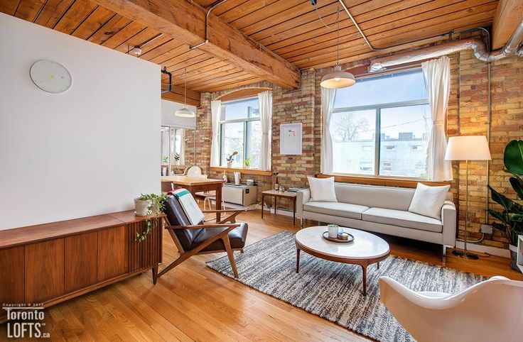 Noble Court Lofts-24 Noble St #104  | Demand authentic post, brick & beam 600+ sf 1 bedroom loft with rare separate bedroom! | More info here: torontolofts.ca/noble-court-lofts-lofts-for-sale/24-noble-st-104