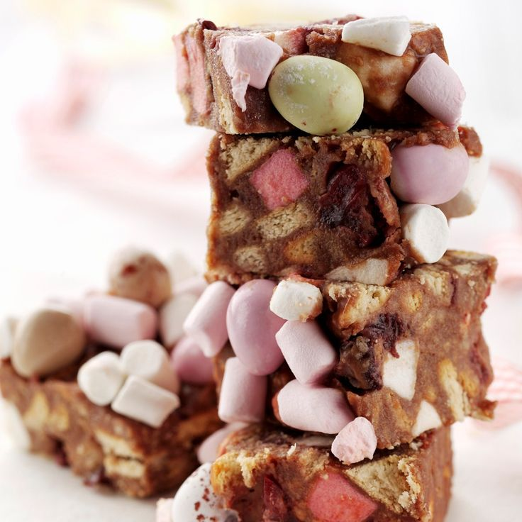 This Easter Egg rocky Road Recipe treat is perfect for Easter and really simple to whip up in the kitchen.