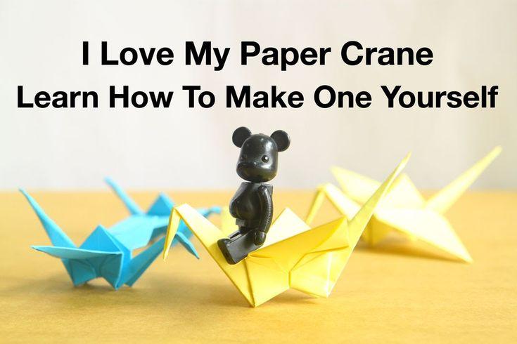 Simple Origami For Kids - Paper Crane