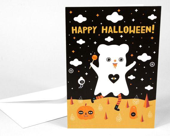 Muxxi - sweet halloween card
