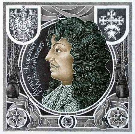 Michał Korybut Winiowiecki This specific drawing of him looks a bit like Louis XIV, especially with that moustache.