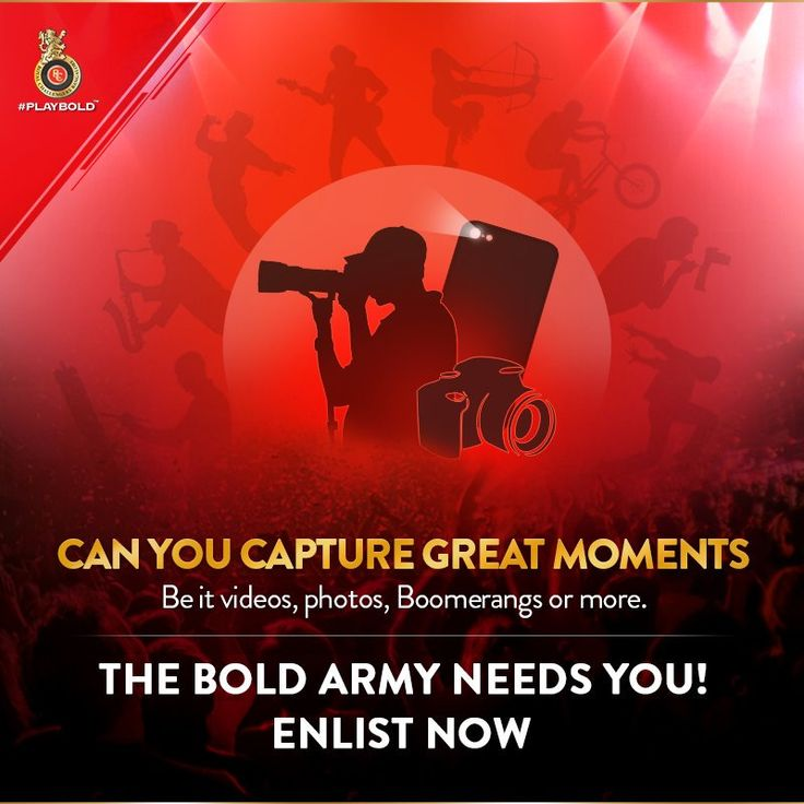 RCB Challengers getting fans to be match day photographers for online content