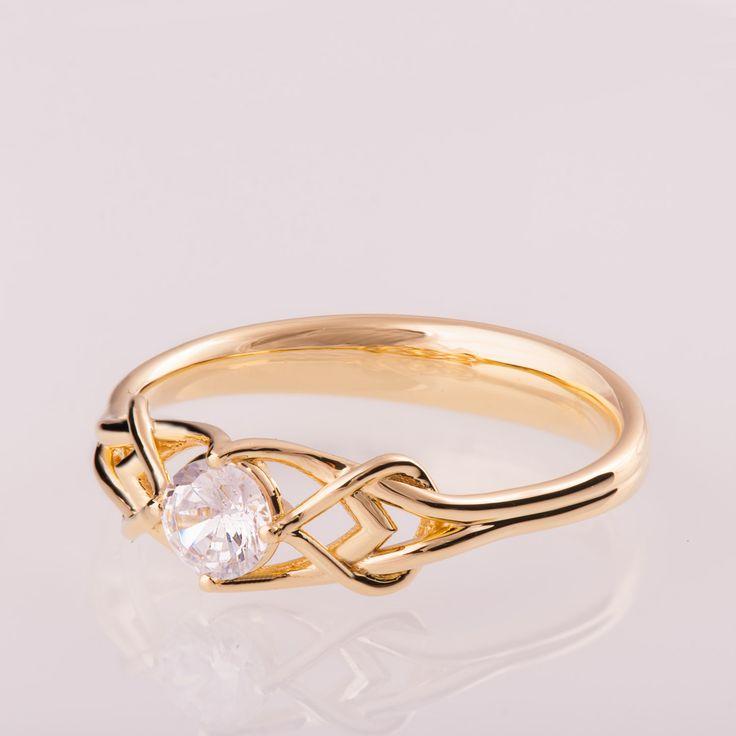 celtic moonstone engagement rings - 736×736