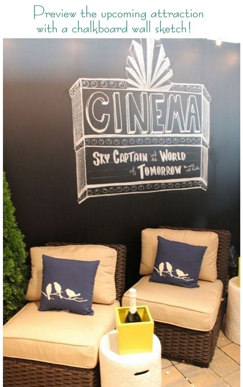 Danny Seo Outdoor Cinema Room For Loweu0027s Challenge Preview Coming Attraction