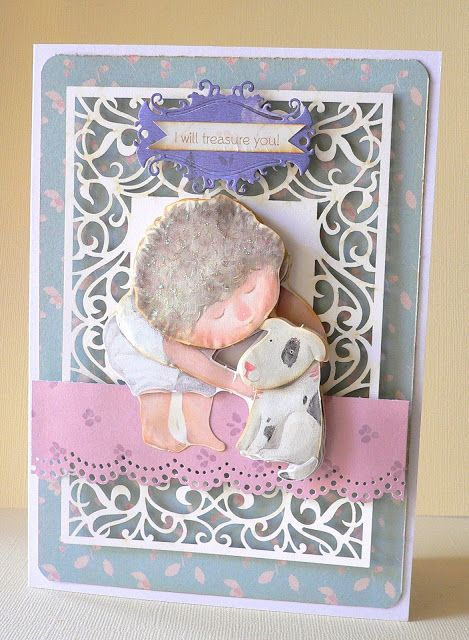 Artdeco Creations Brands: Congratulations Baby & Treasure You Cards by Adriana Bolzon