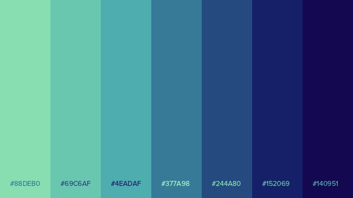 Palitra On Twitter Flat Color Palette Green Colour Palette Color Palette Design,Barbra Streisand Mall Under Her House