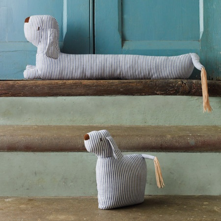 Door stops and draft excluders