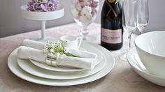 Сервировка свадебного стола