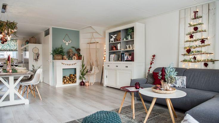Burgundowe święta | Bajkowe Wnętrza