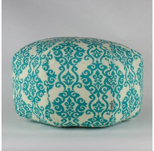 Luminary Turquoise Ottoman - $149. Handmade in Noosa, these Plump Ottomans come in a variety of colours and patterns to compliment any decor.