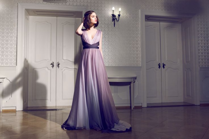 Daalarna Couture Omre Purple Evening Dress_Secret collection