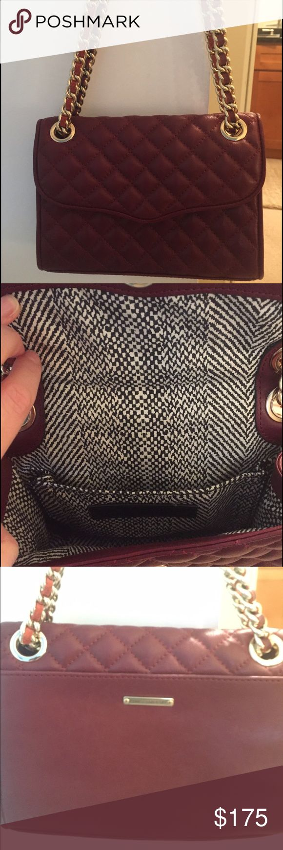 Rebecca Minkoff full size quilted cross body Again, excellent condition.  Only used it 5-6 times and was purchased at Nordstrom. Rebecca Minkoff Bags Crossbody Bags