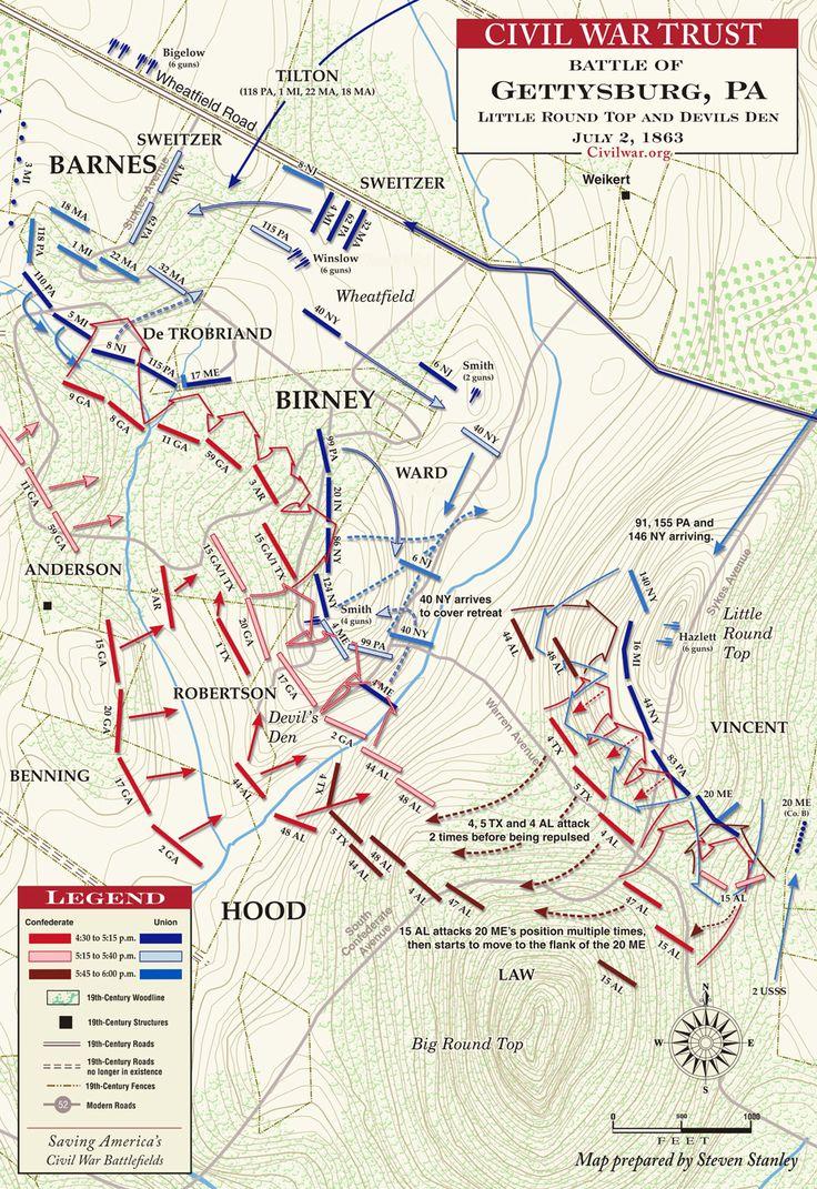 Best History Gettysburg Images On Pinterest Gettysburg - Battle of gettysburg us map