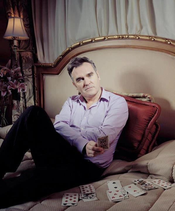 Image result for morrissey cards playing