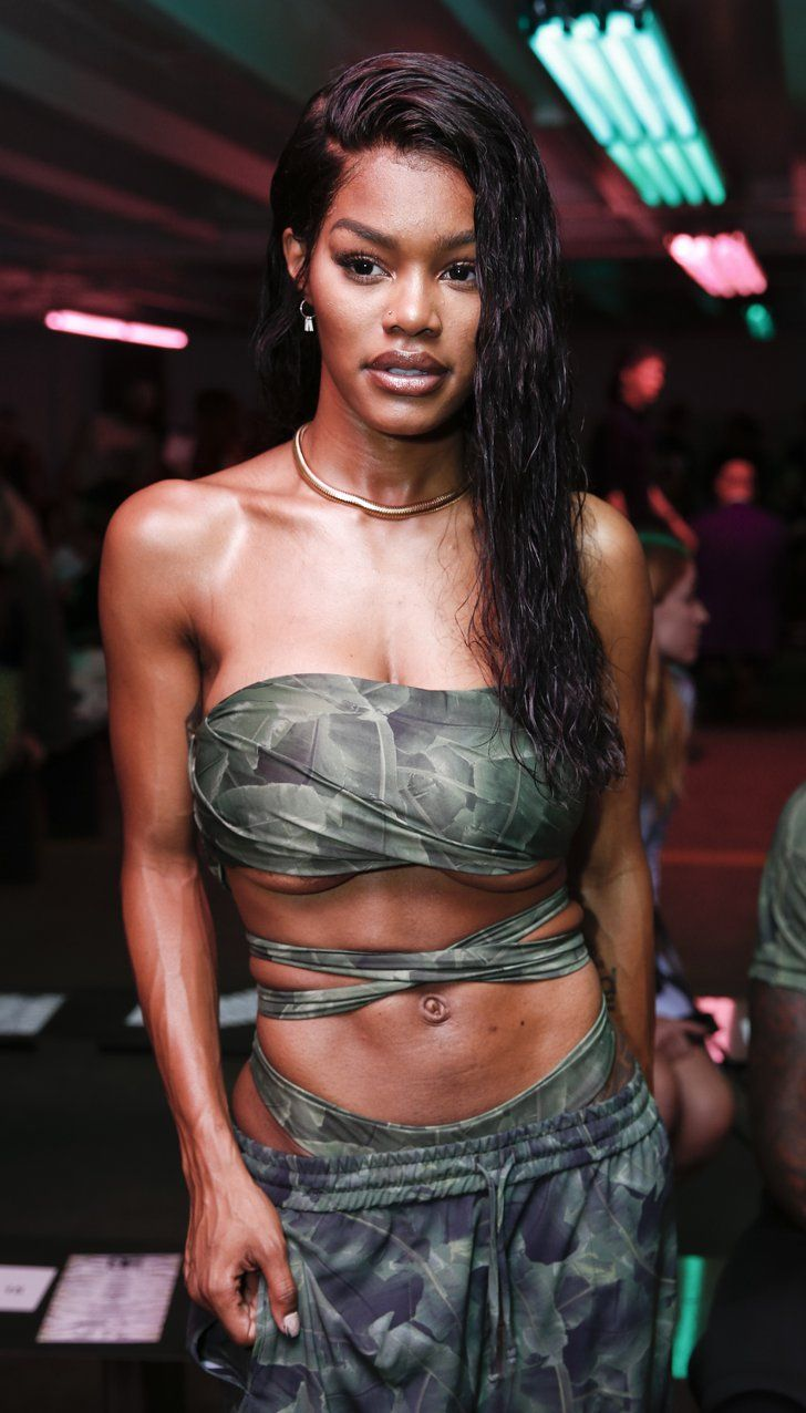 This New Crop Top Is Taking Over Fashion Week — and the Rest of the World, Too As Is Teyana Taylor, Who Embraced the Trend Both on and Off the Runway