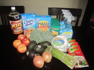 Weekly Grocery Trip ~ April 21, 2013 #2  Total Regular Price $78.84  Total Paid $41.25 (48% Savings)