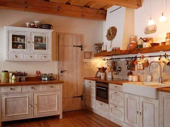 Vidiecka kuchyna- stolar - - Kuchyňa