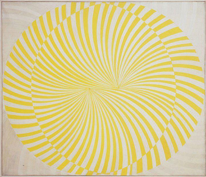Manfred Kuttner | Dual, 1963. Tempera, fluoreszierende Farbe auf Leinwand
