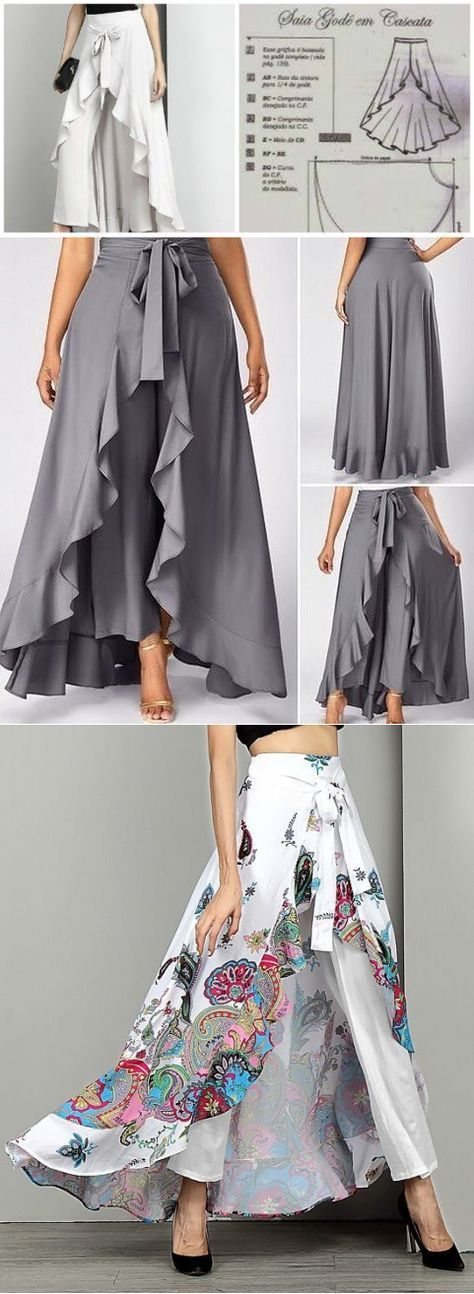 SKIRTS PALAZZO FOR ALL CASES OF LIFE. IDEAS FOR THOSE …