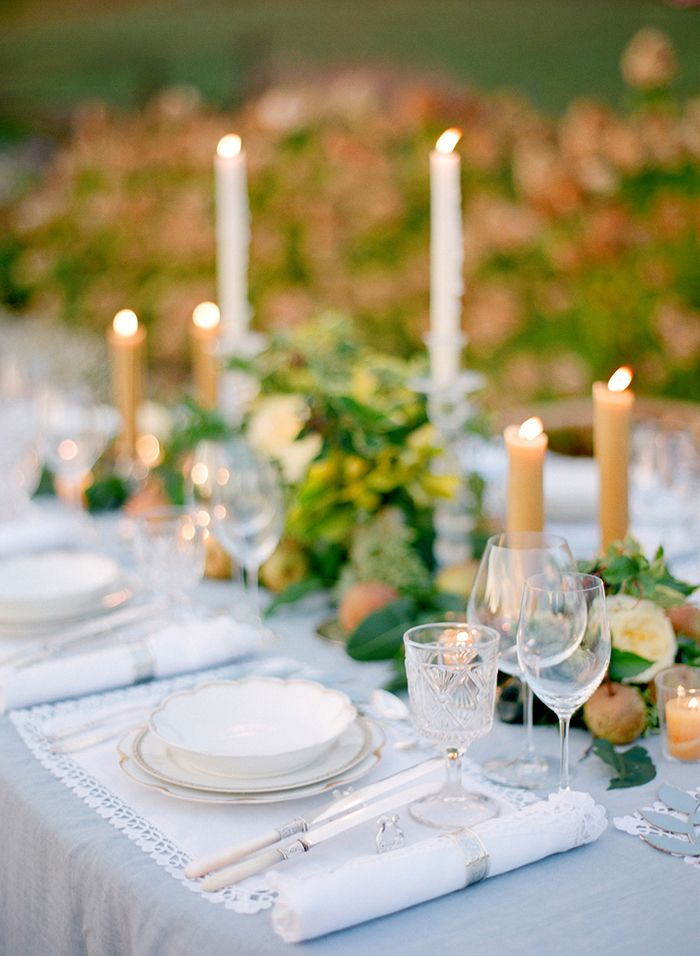 Elegant Outdoor Wedding Inspiration