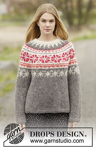 Ravelry: 164-45 Petunia pattern by DROPS design