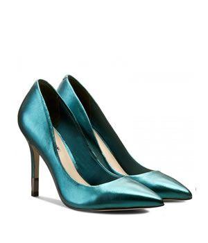 Pantofi Stiletto De Ocazie Guess Metalizati