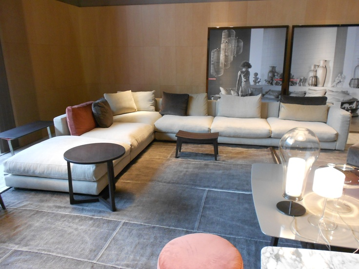 The Studio Harrods visits Milan Furniture Fair - Flexform