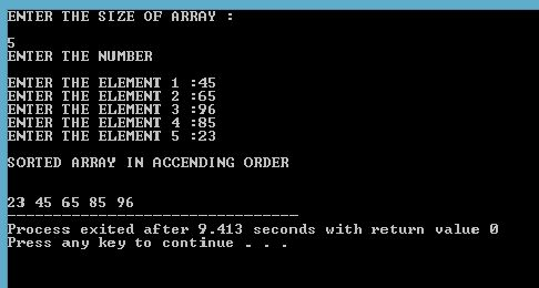 PROGRAMMING WITH C, C++ & JAVA: Write A Program To Bubble Sort Using Dynamic Array...